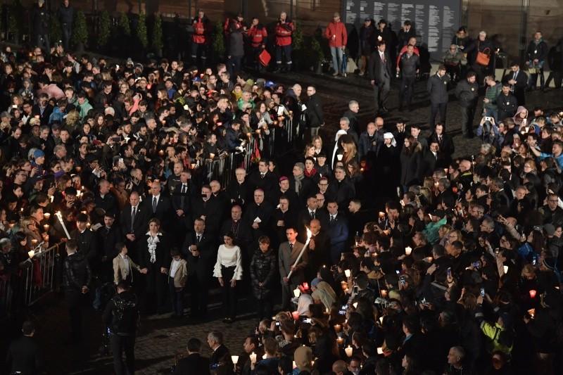 Chemin de Croix au Colisée 2018 © Vatican Media