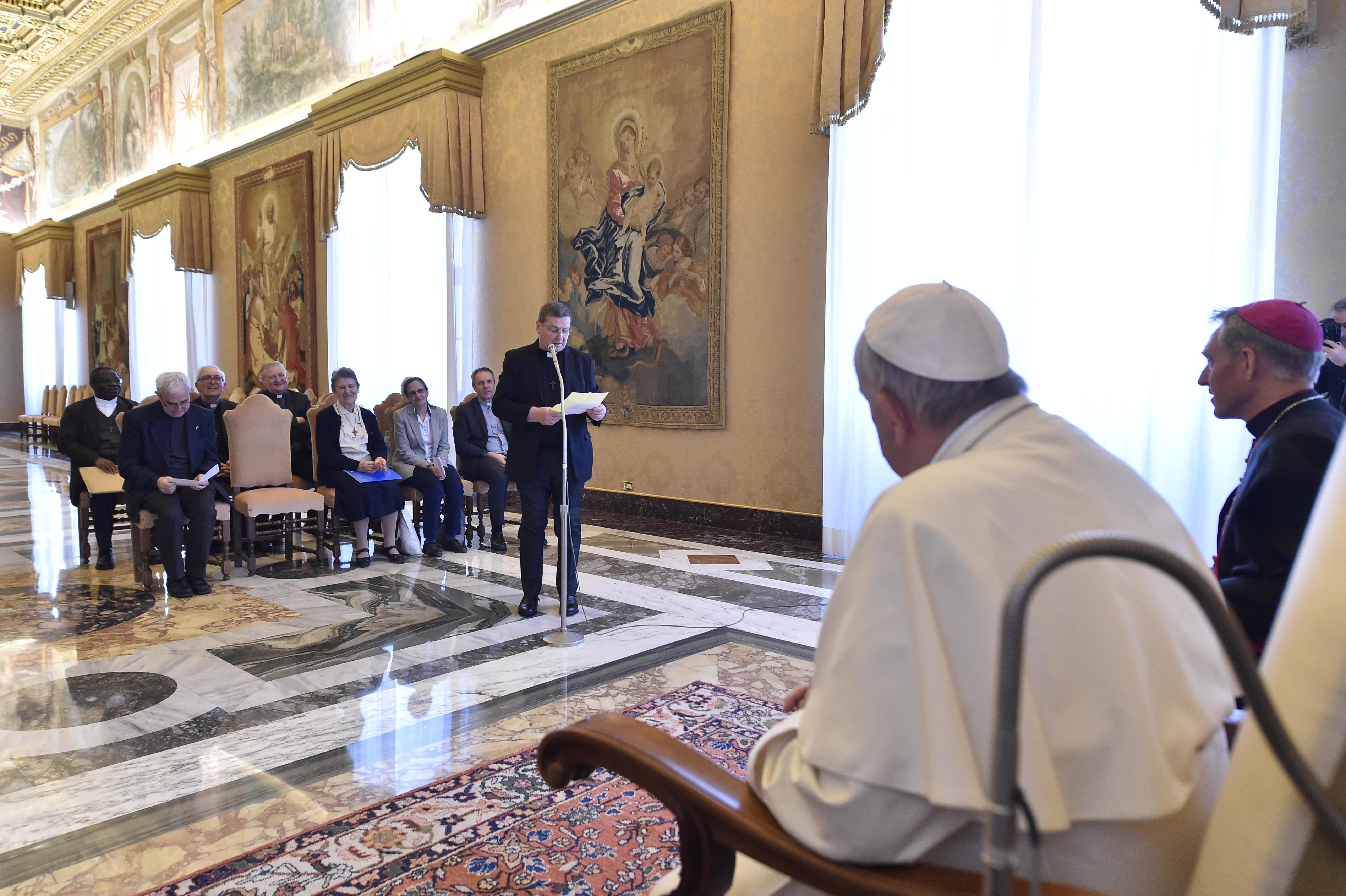 Prêtres du Prado © Vatican Media