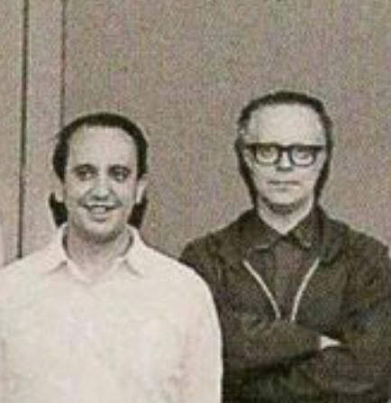 Jorge Mario Bergoglio et Miguel Angel Fiorito @ Archives Jésuites
