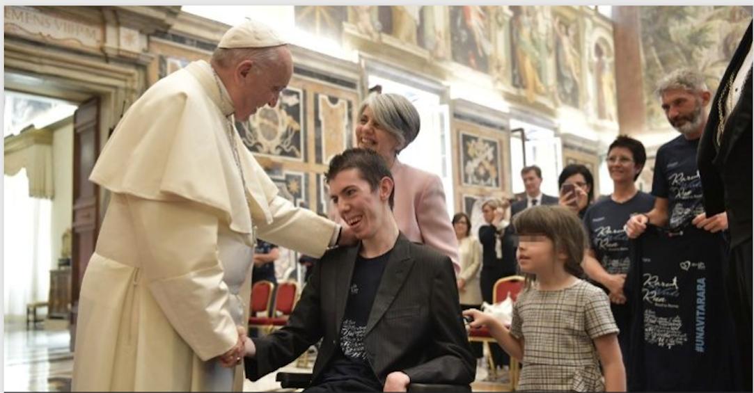 """La vie rare"" 30/04/2018 © Vatican Media"