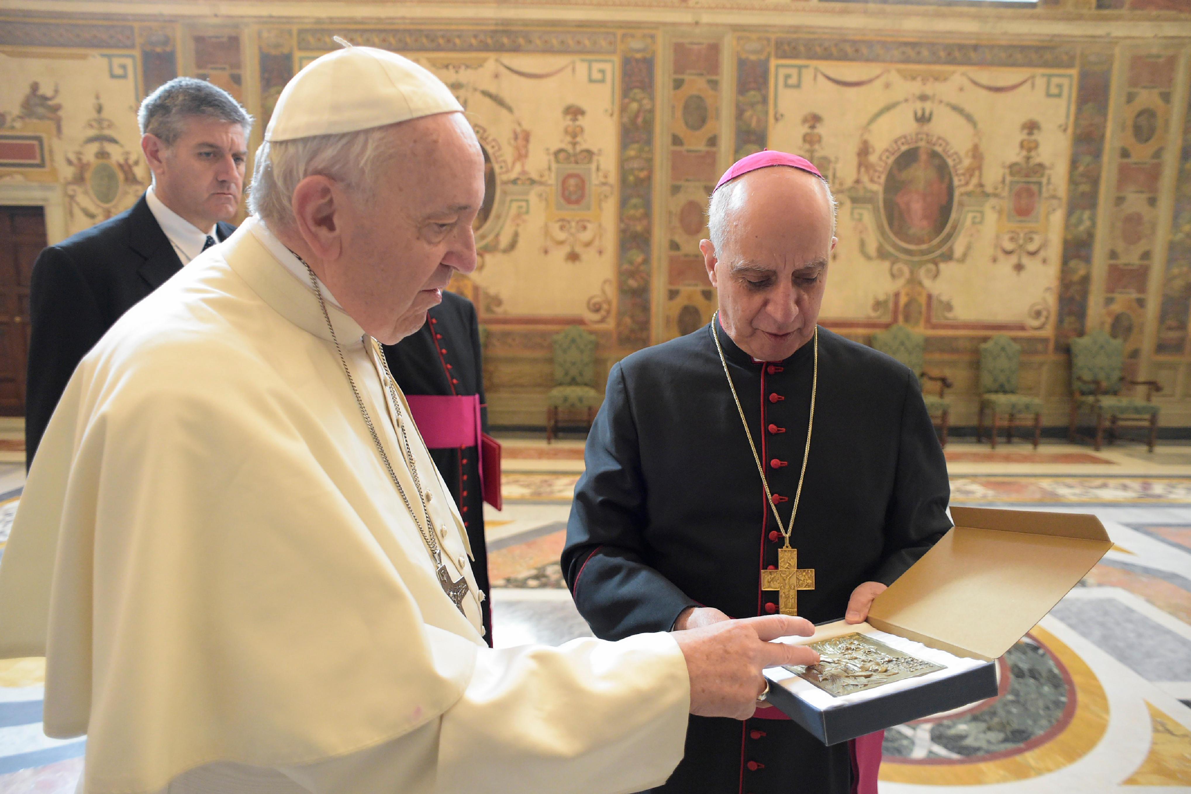 Mgr R. Fisichella Missionnaires de la miséricorde 10/04/2018 © Vatican Media