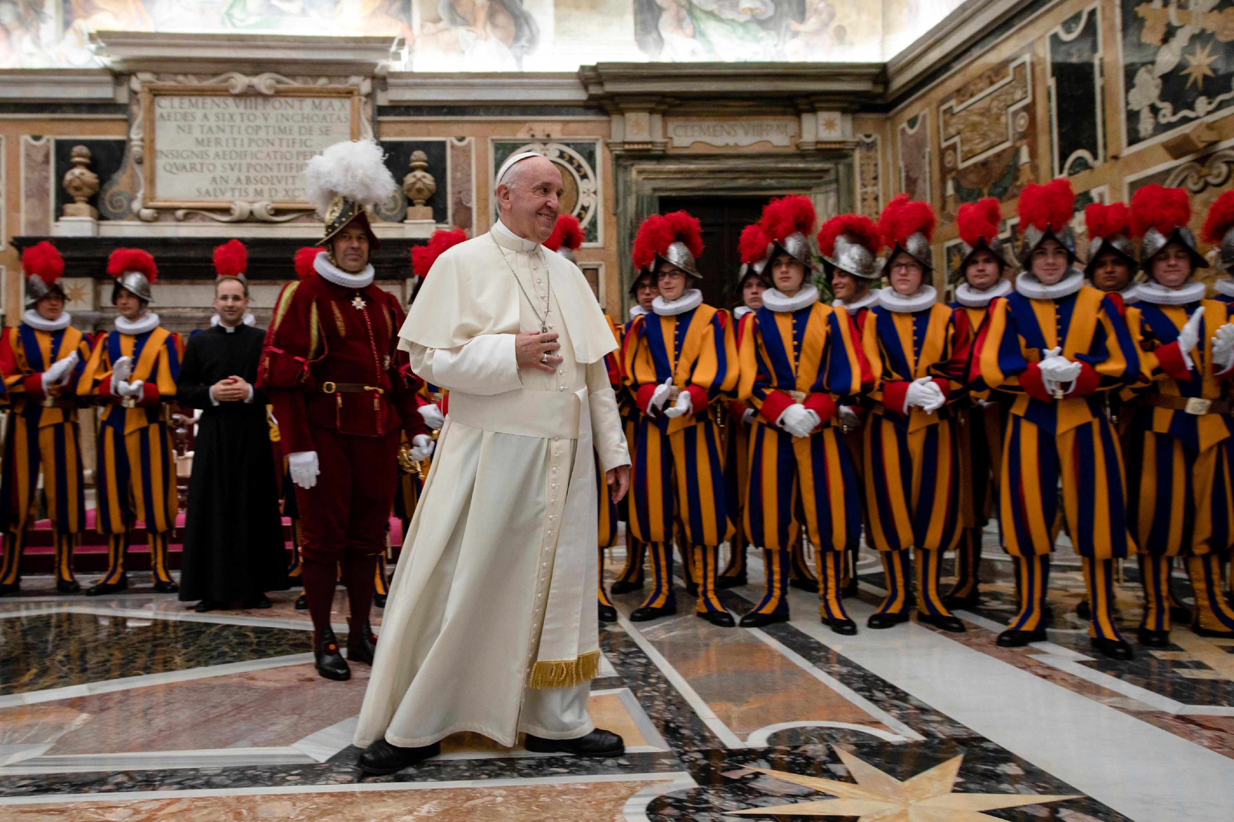 Gardes suisses © Vatican Media