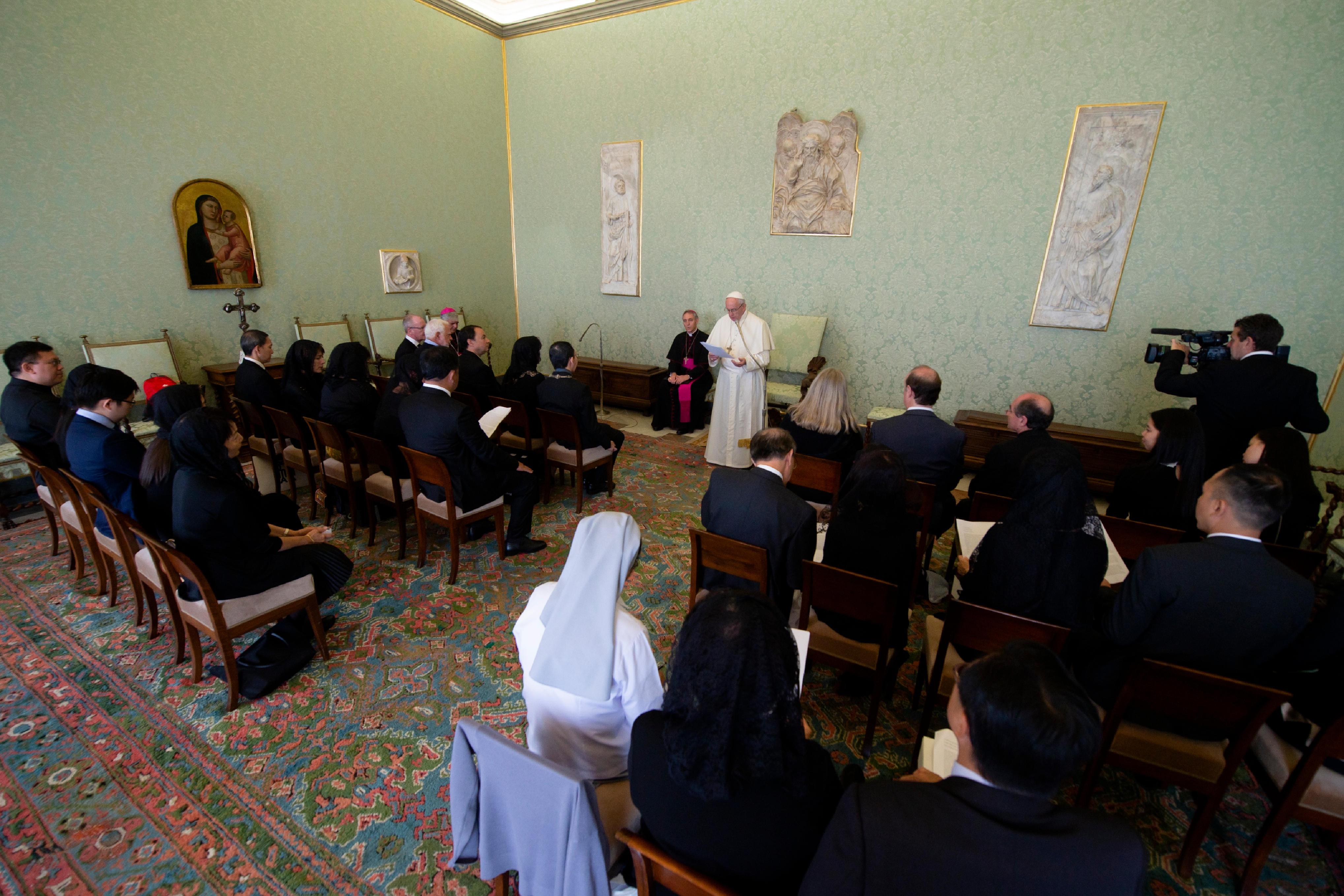 Fédération internationale des Associations des Médecins catholiques © Vatican Media