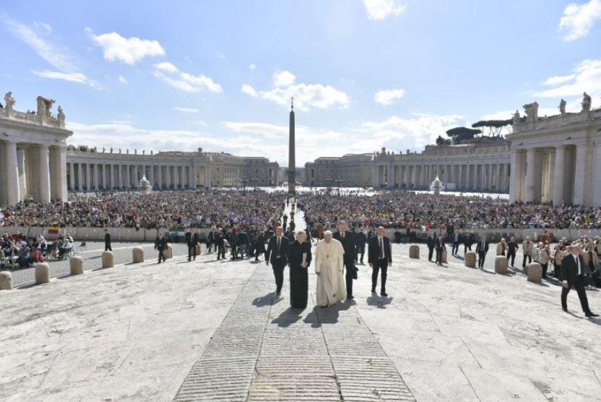 Audience générale du 16 mai 2018 © Vatican Media