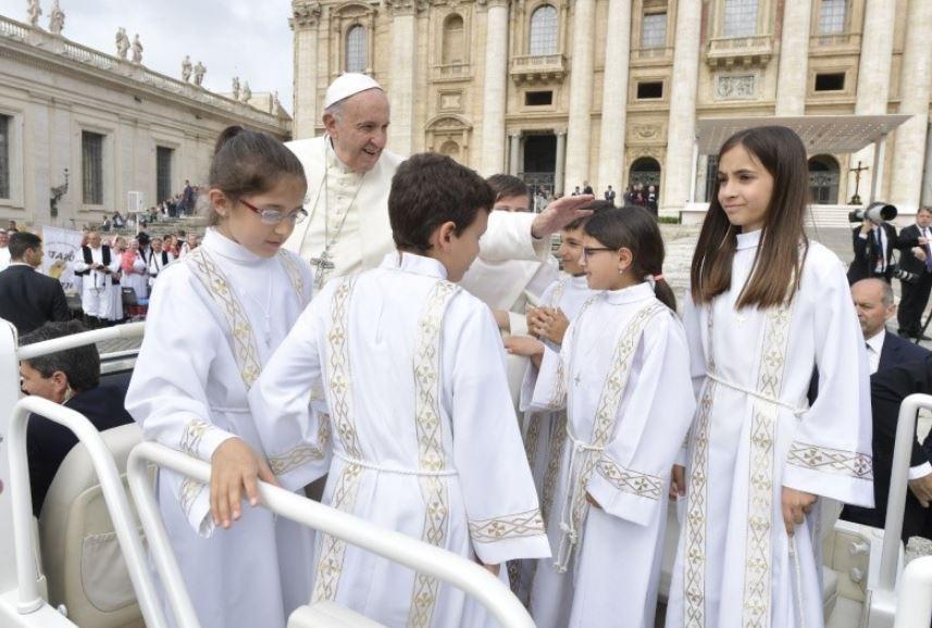 Audience générale du 23 mai 2018 © Vatican Media