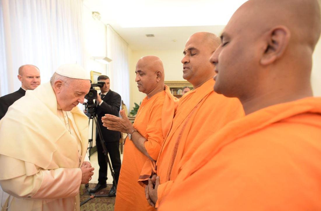 Bouddhistes © Vatican Media