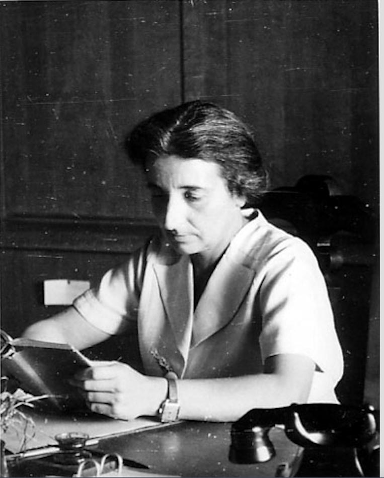 Hermine Speier, vers 1938 @ Georg Daltrop