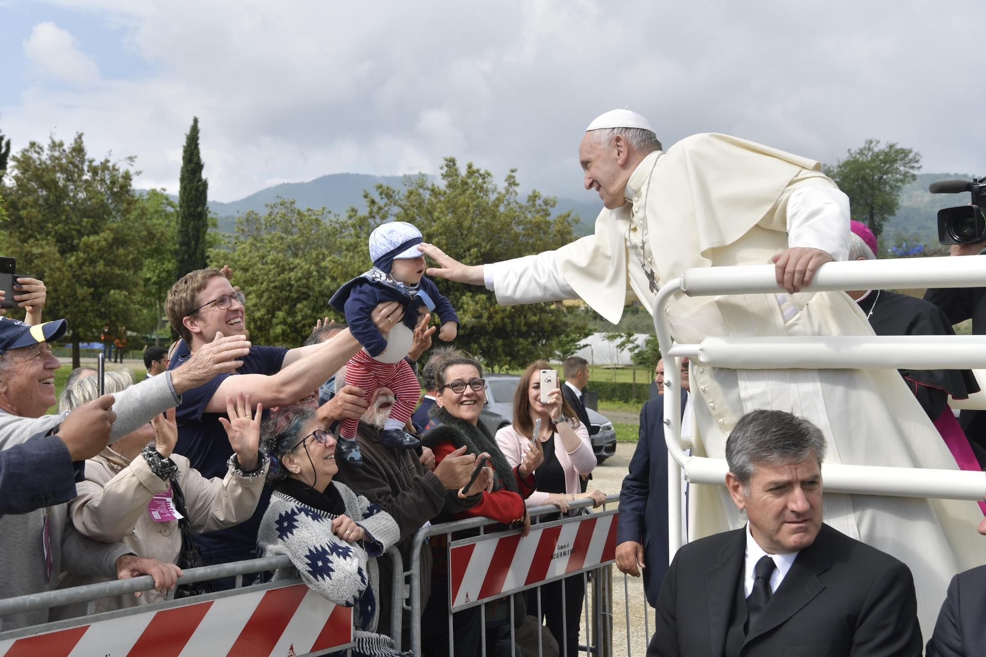 Loppiano 10/05/2018 © Vatican Media