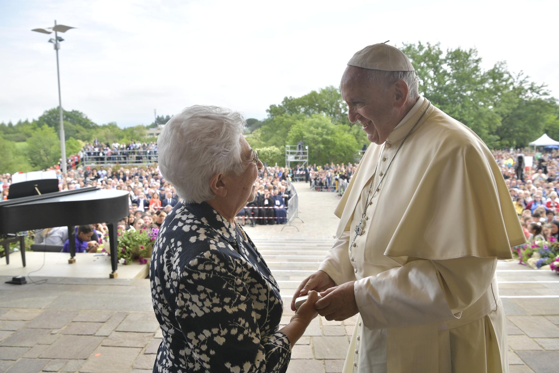 Maria Voce, Loppiano 10/05/2018 © Vatican Media