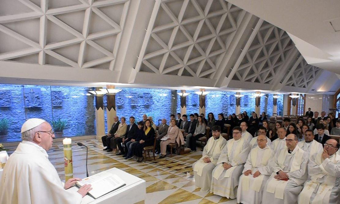Messe à Sainte-Marthe du 17 mai 2018 © Vatican News
