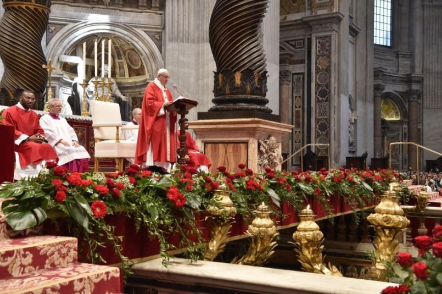 Messe de Pentecôte © Vatican Media