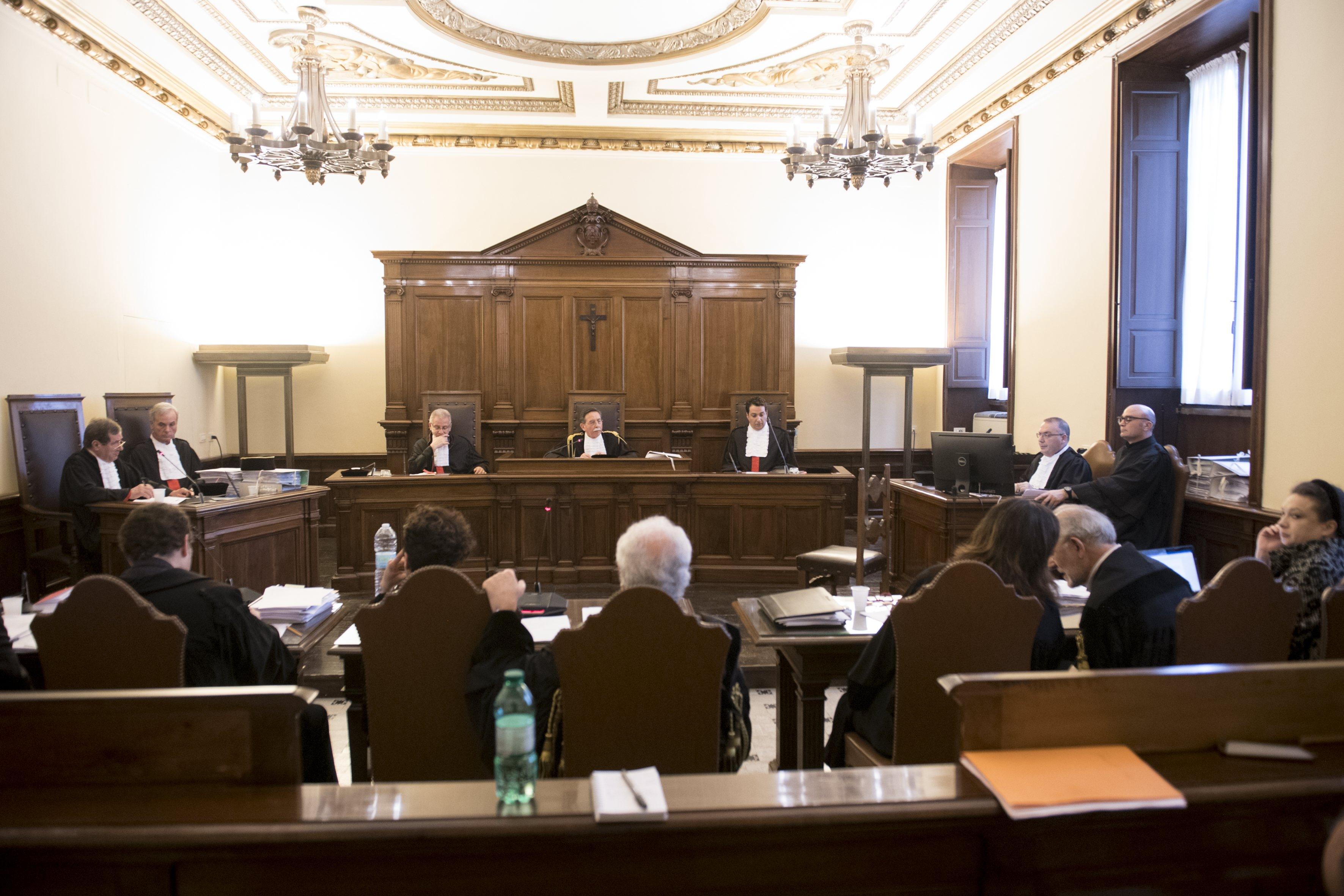 Procès de Caiola et Liuzzo 09/05/2018 © Vatican Media