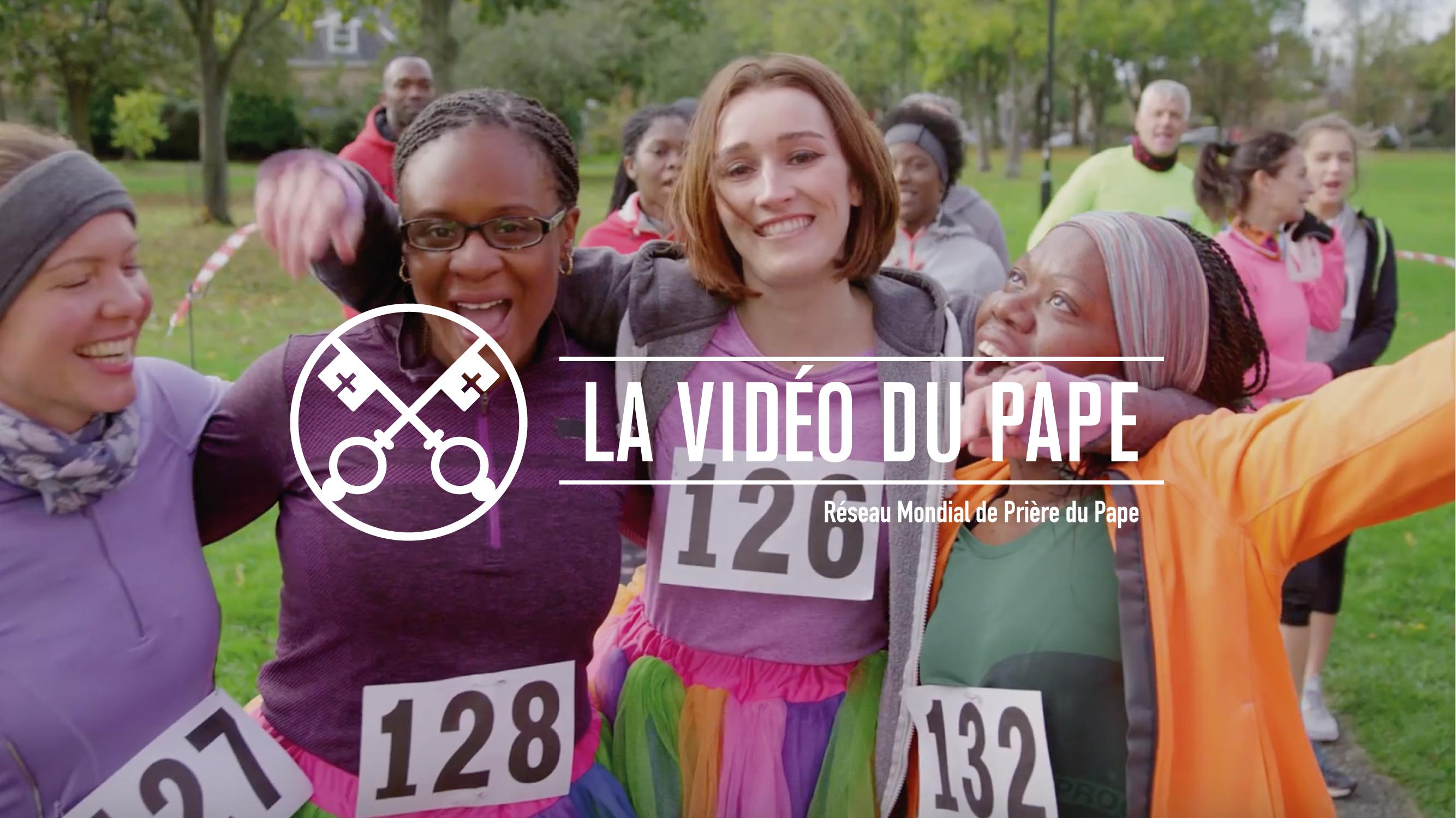 Laïcs © La vidéo du pape