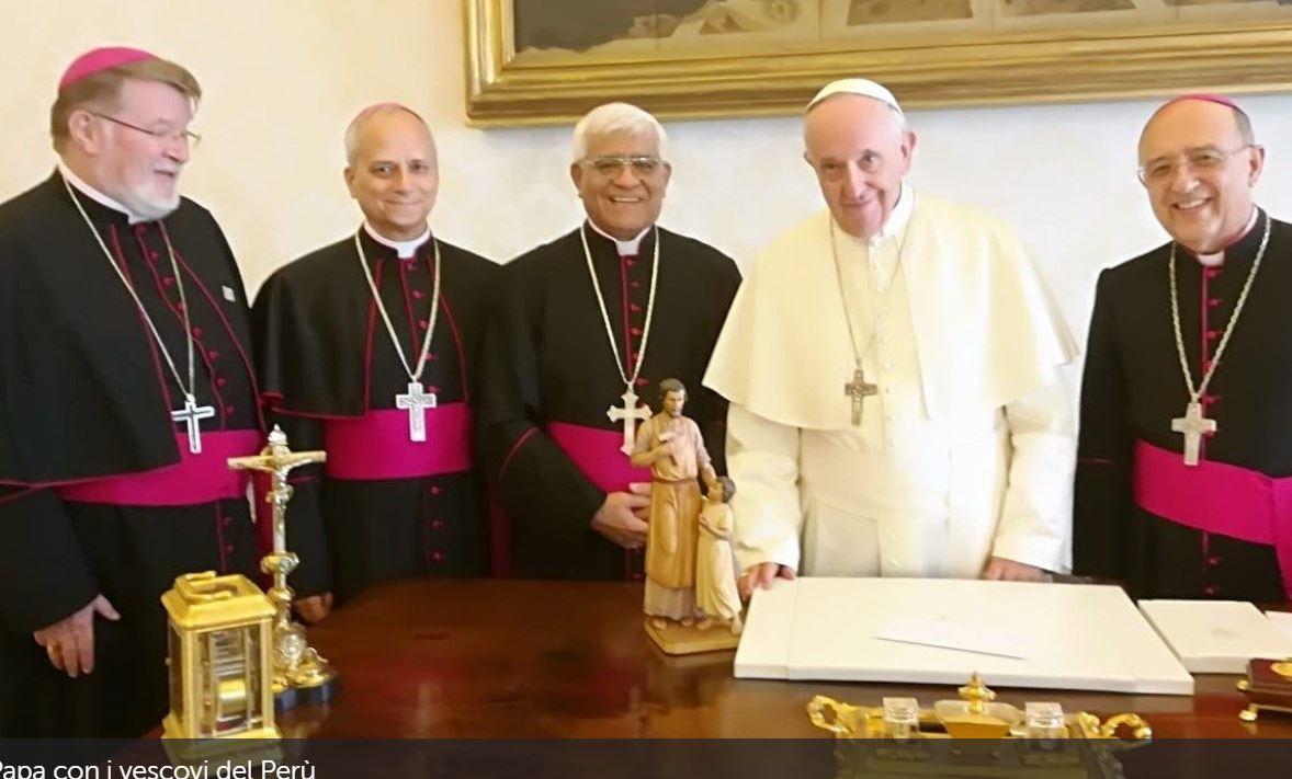 Présidence des évêques du Pérou © Vatican News