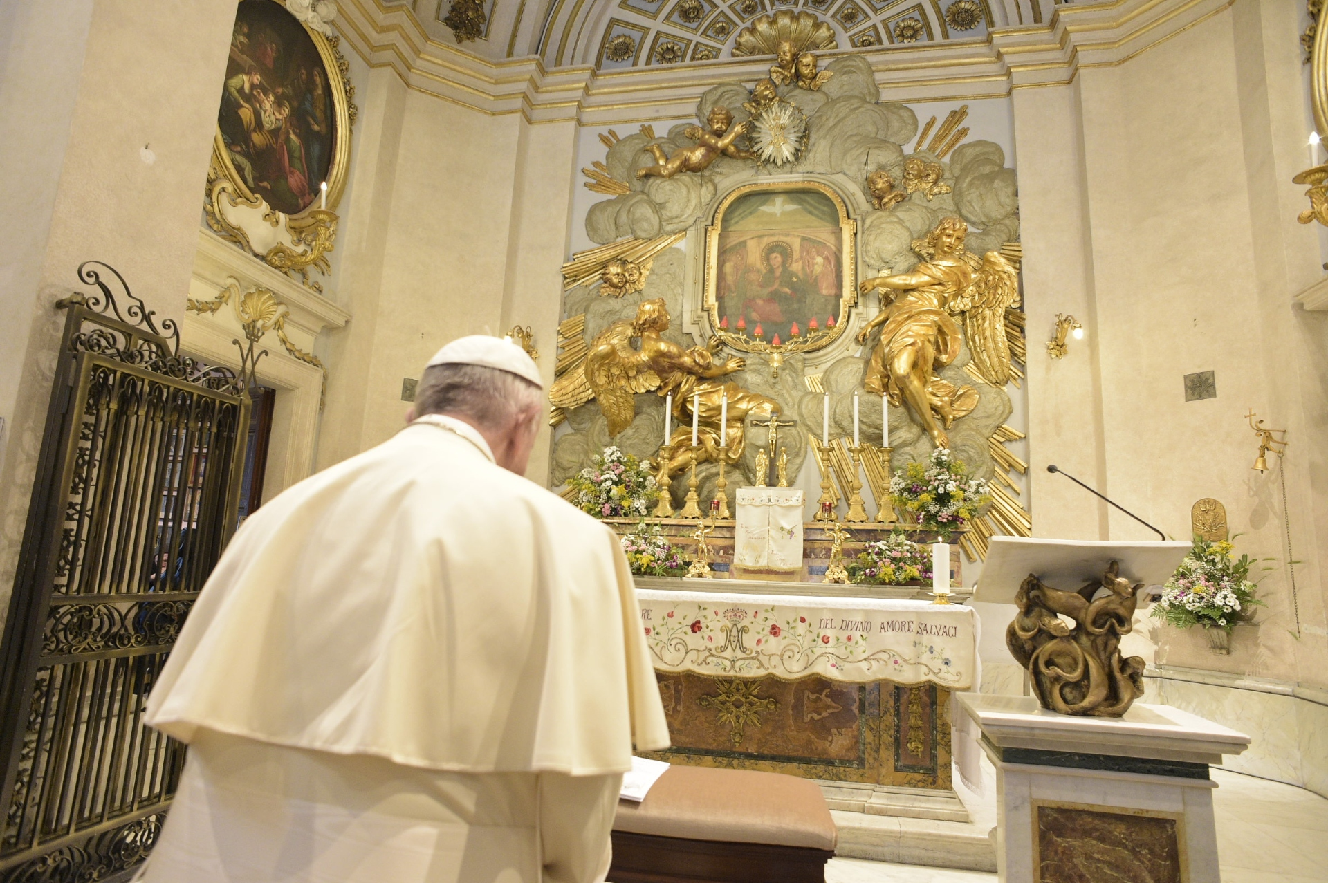 Divino Amore 01/05/2018 © Vatican Media