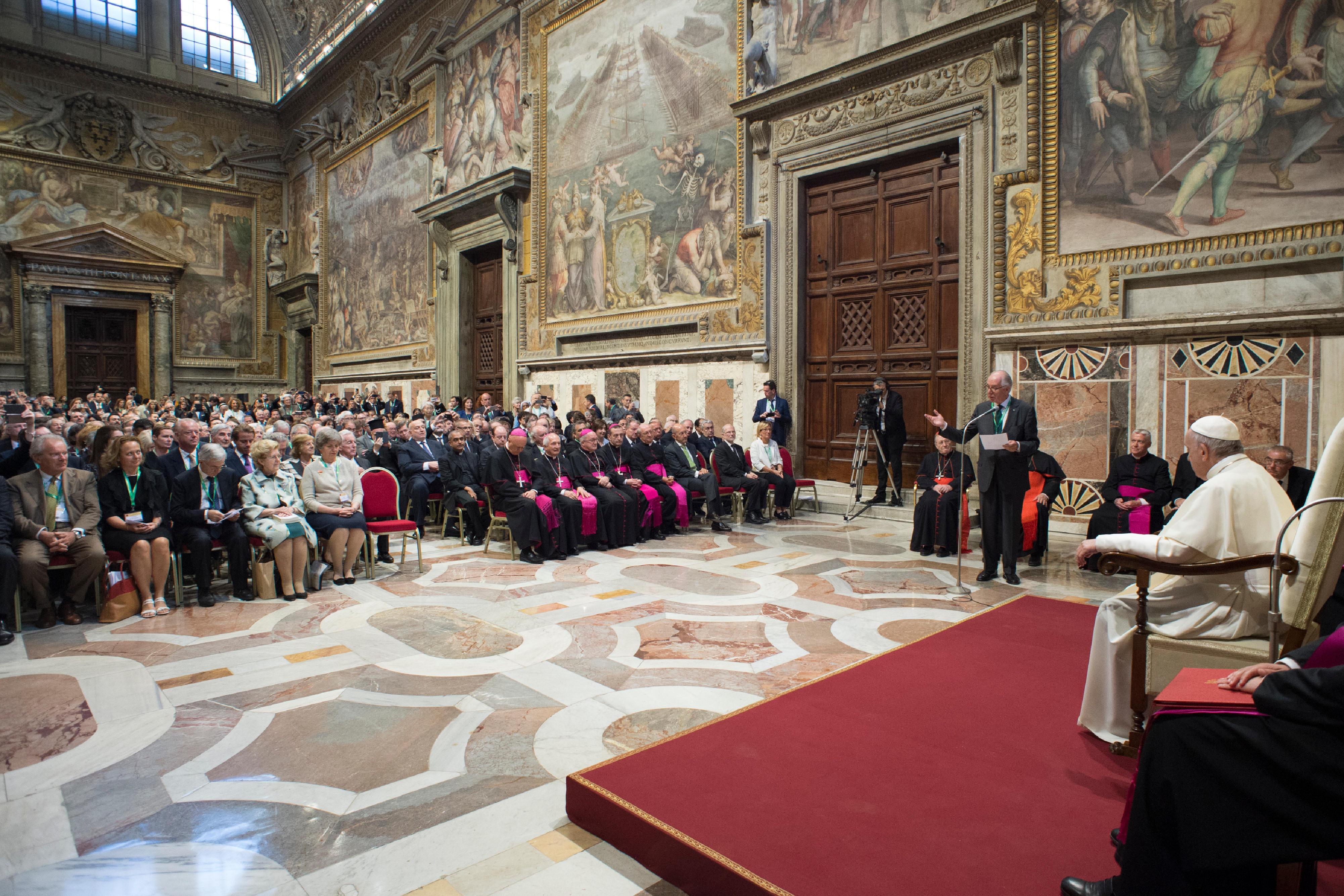 Centesimus Annus 26/052018 © Vatican Media