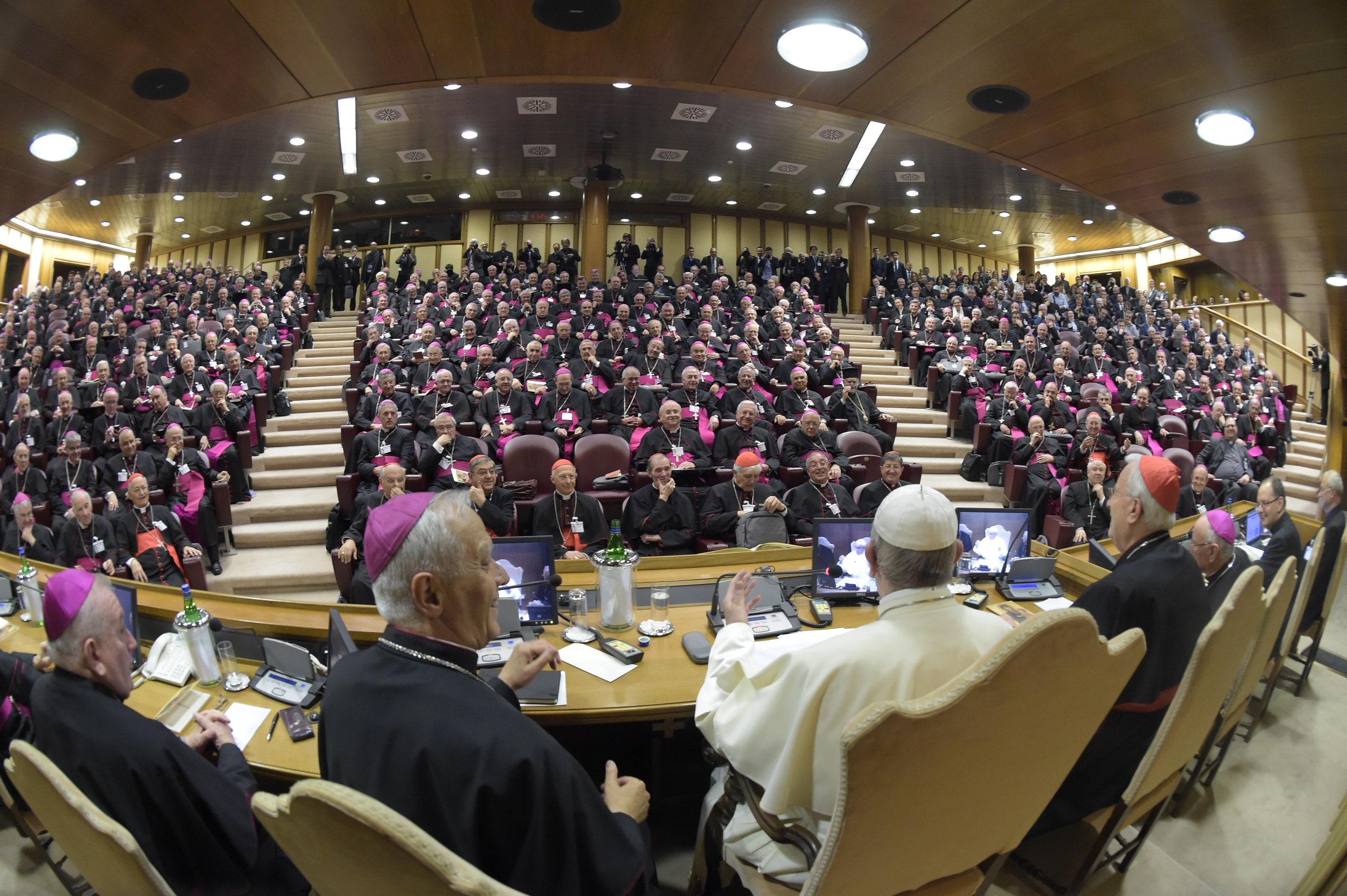 Evéques italiens, le pape rencontre la CEI © Vatican Media