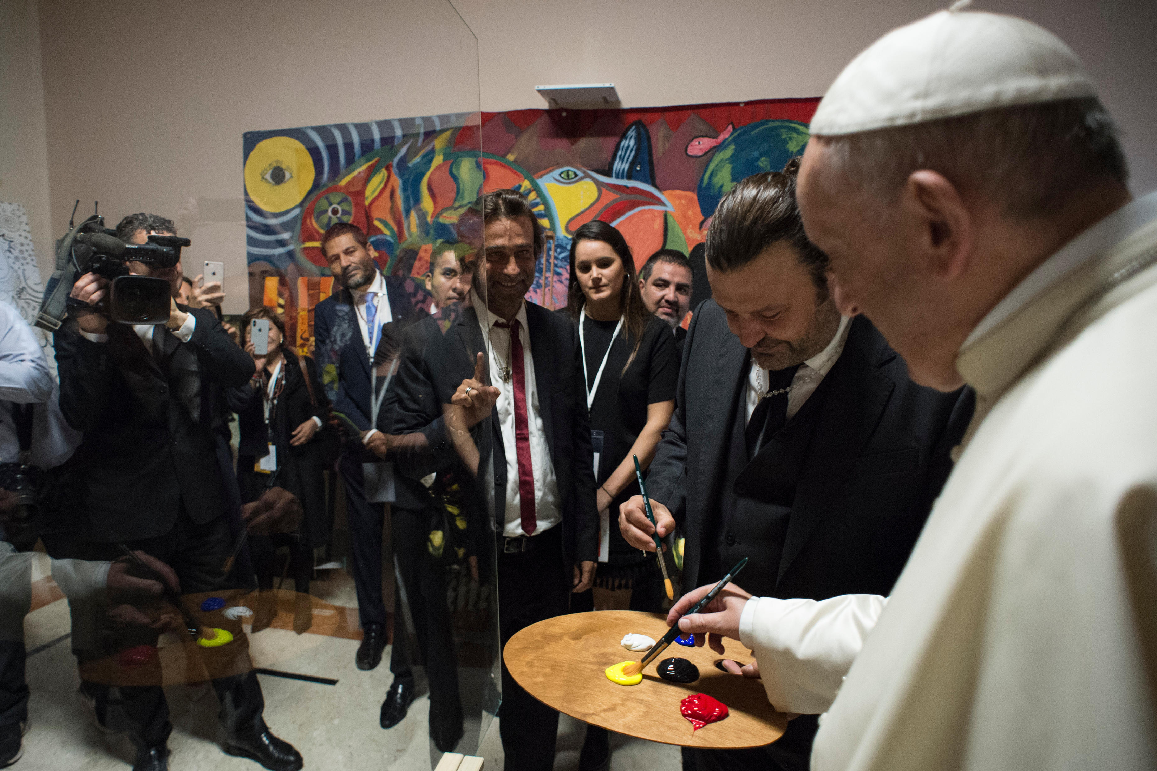 Scholas occurrentes 11/05/2018 © Vatican Media