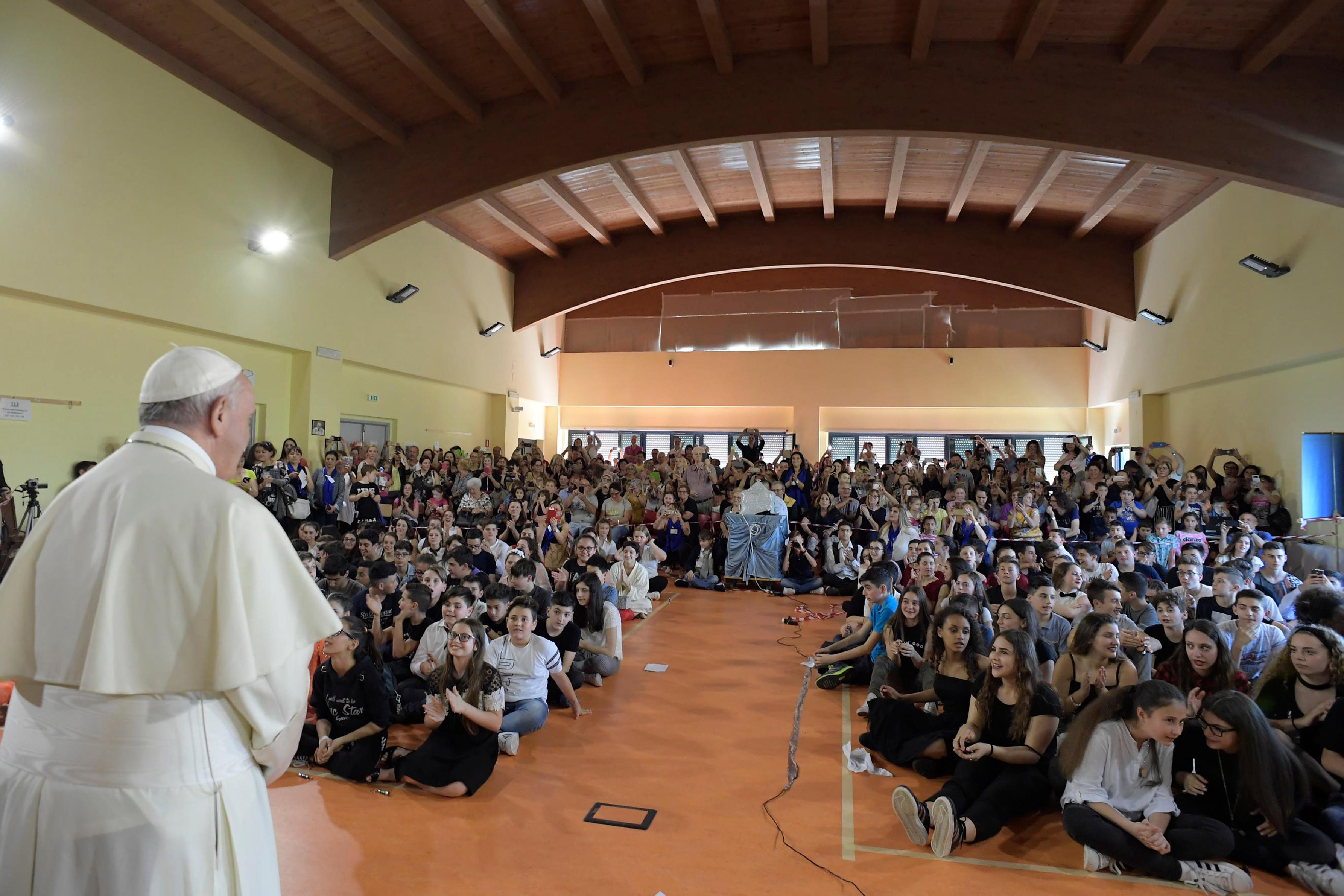 Etablissement Elisa Scala © Vatican Media