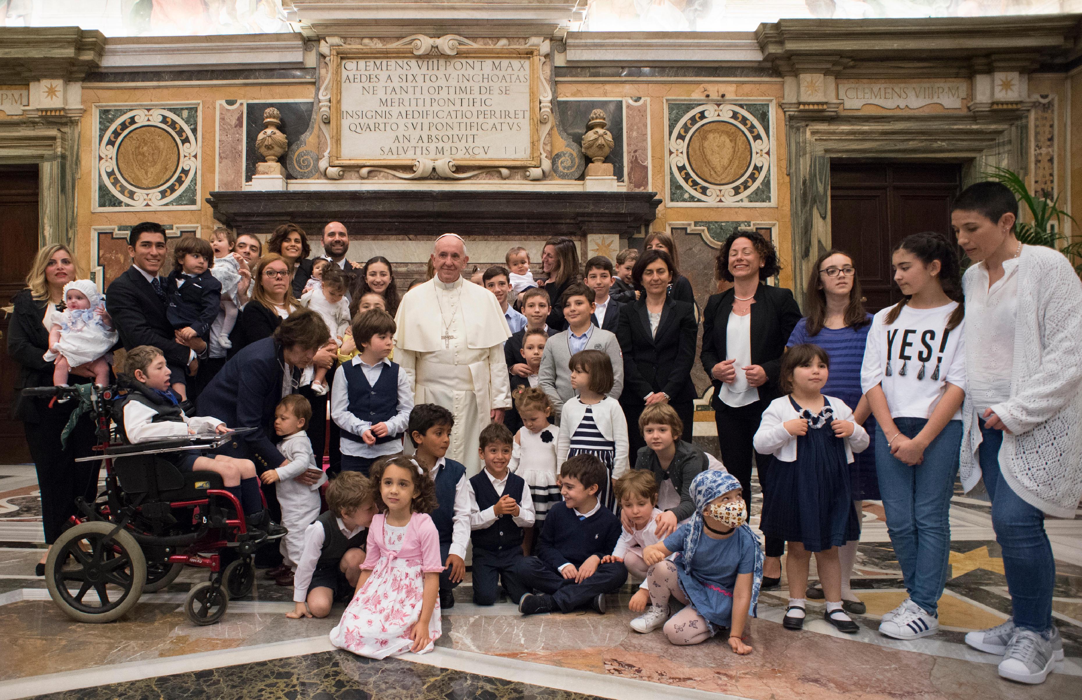 Association Legia 12/05/2018 © Vatican Media