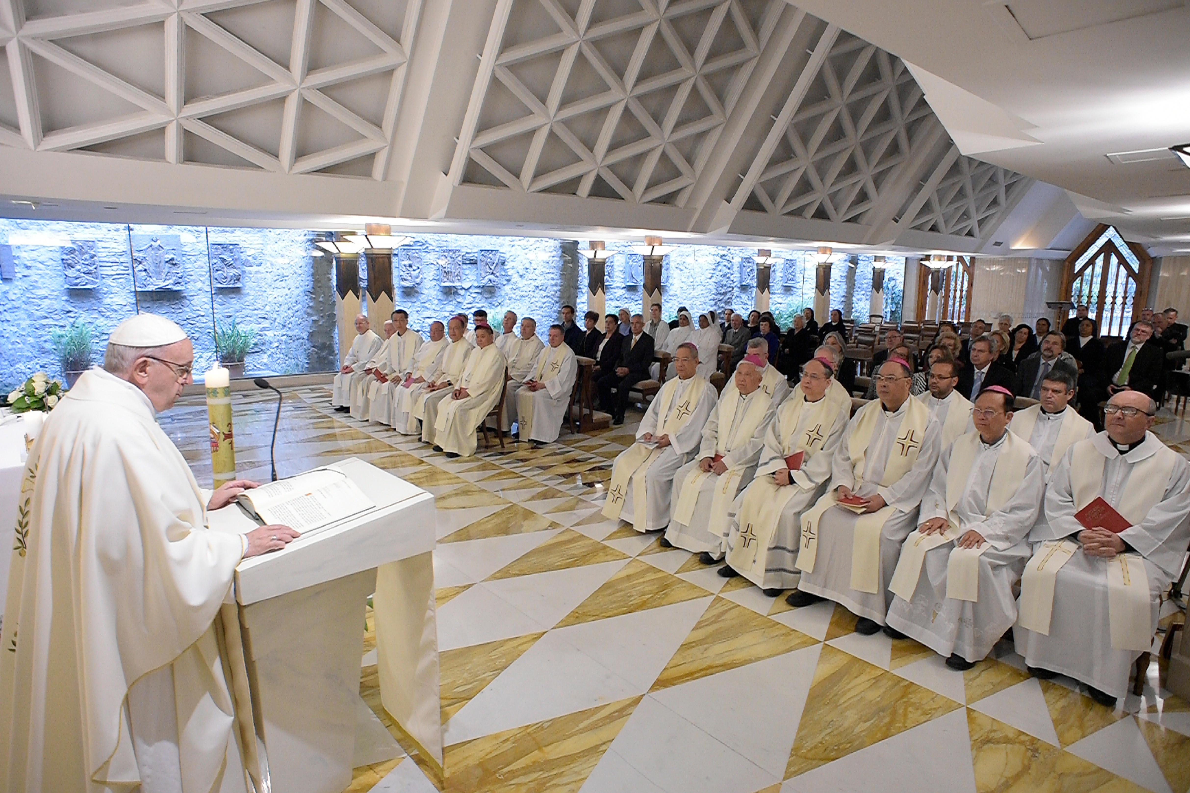 Sainte-Marthe 15/05/2018 © Vatican Media