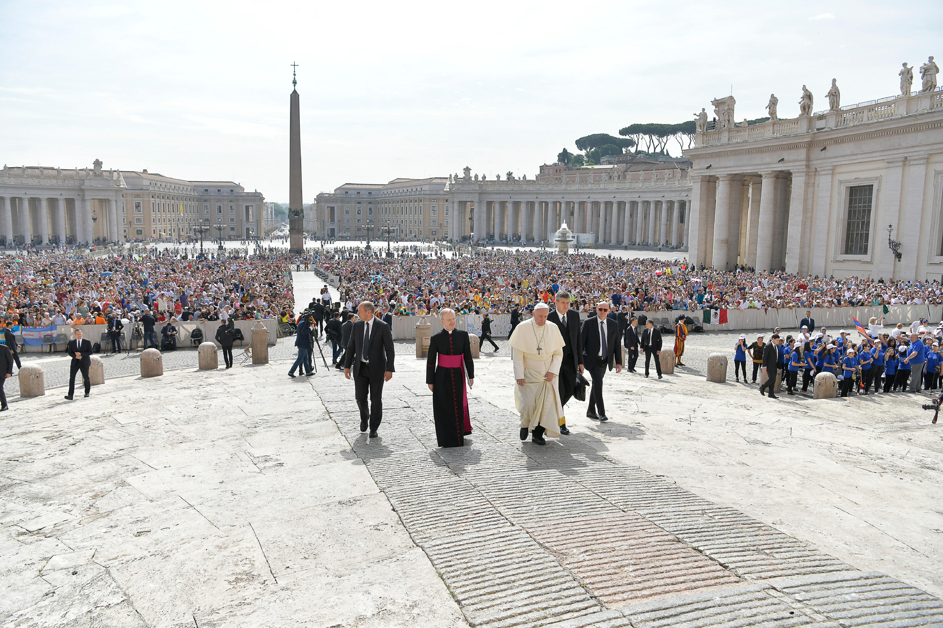 Audience du 6 juin 2018 © Vatican Media