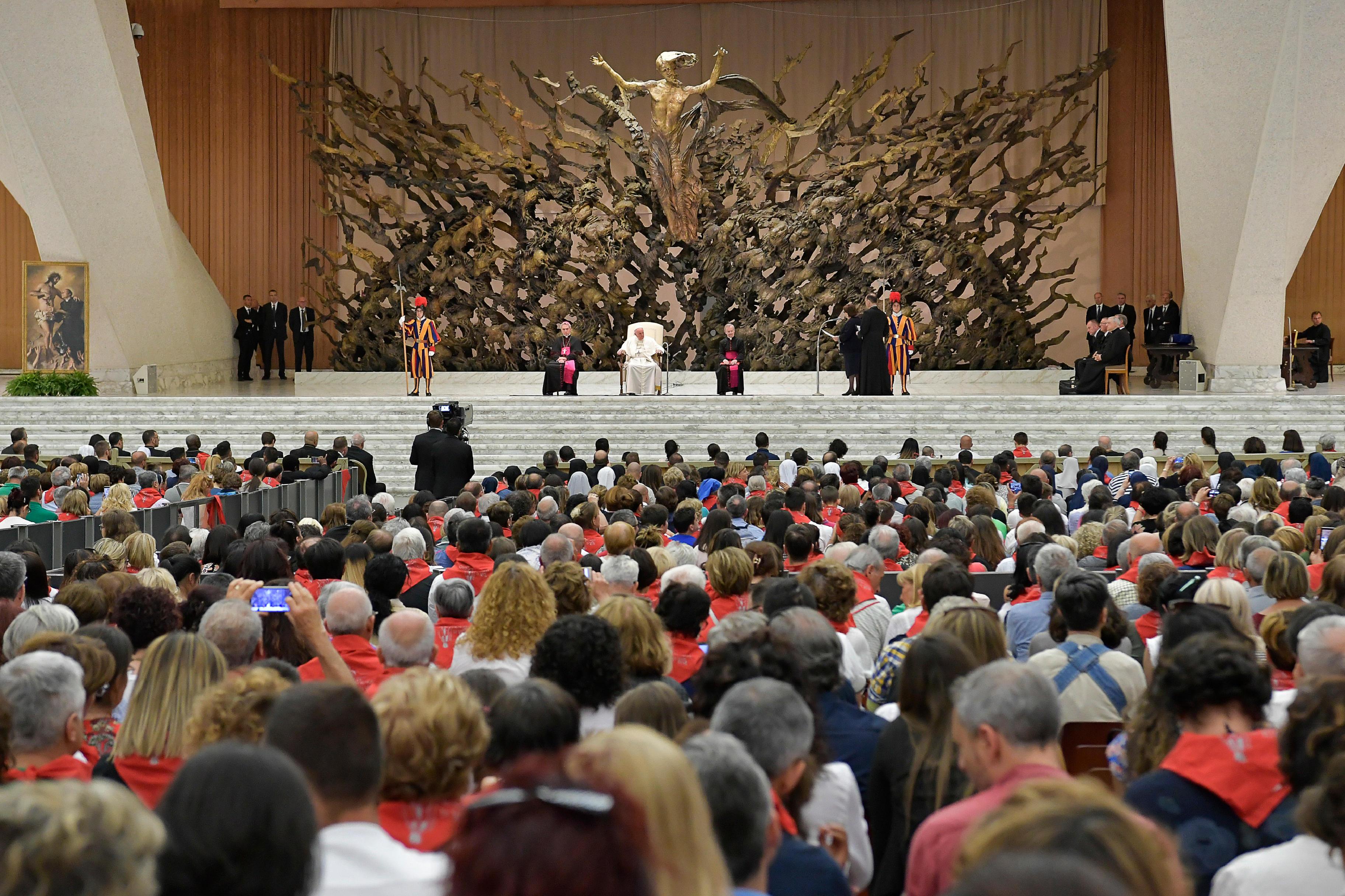 Familles du Précieux Sang © Vatican Media