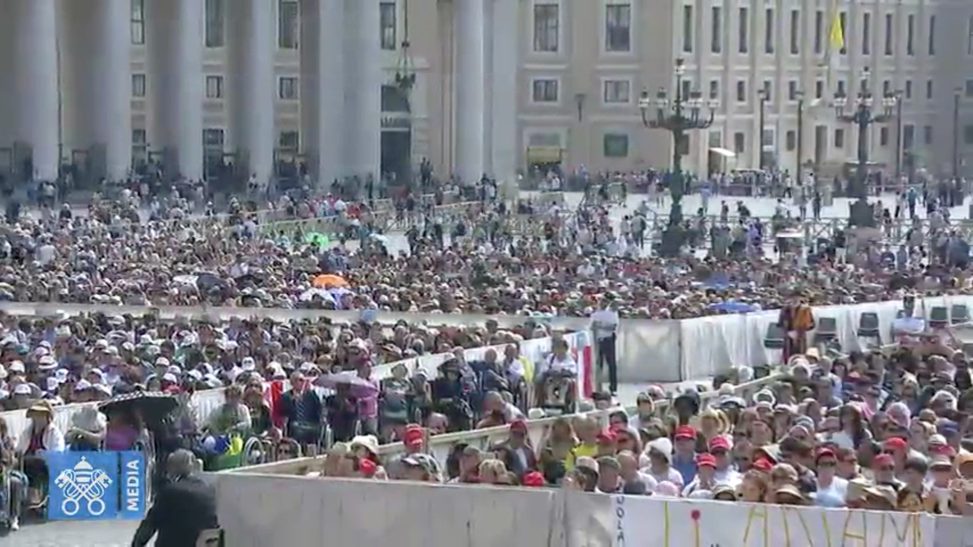 Audience du 6 juin 2018, capture @ Vatican Media