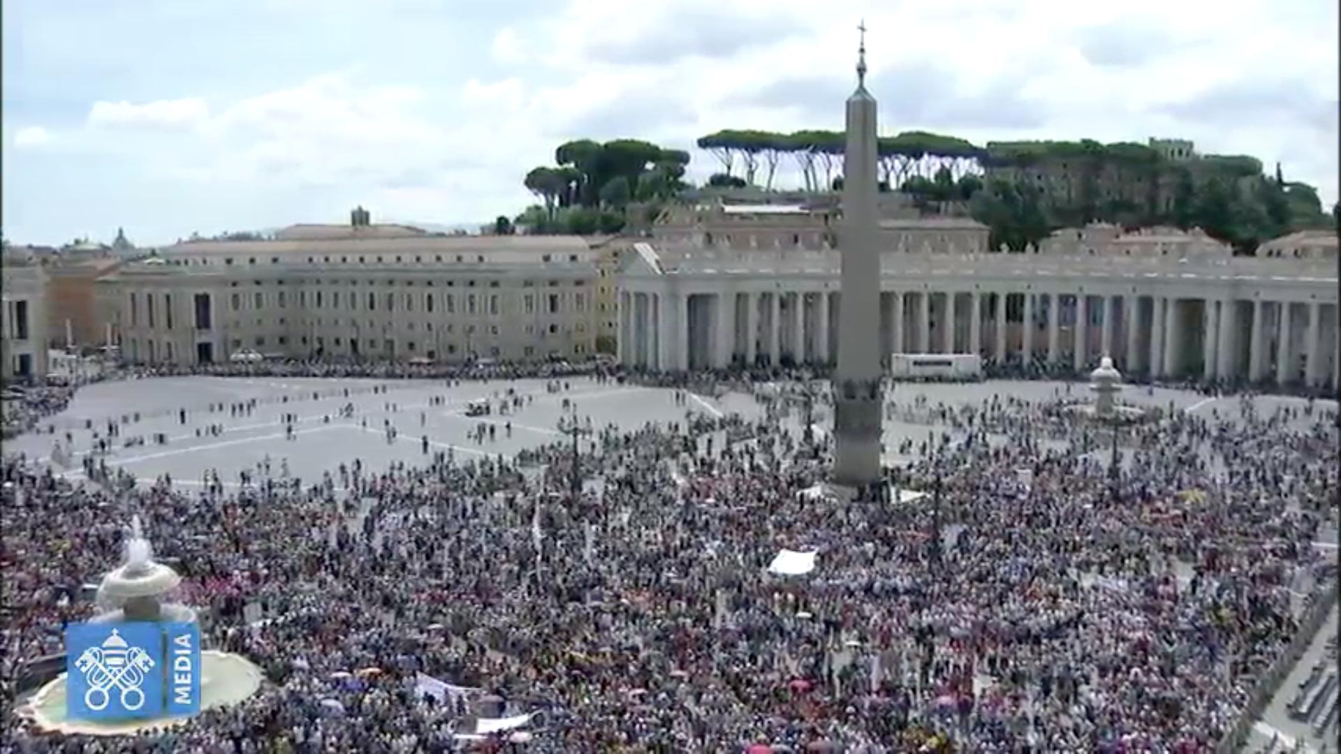 Angélus 24/6/2018 capture @ Vatican Media