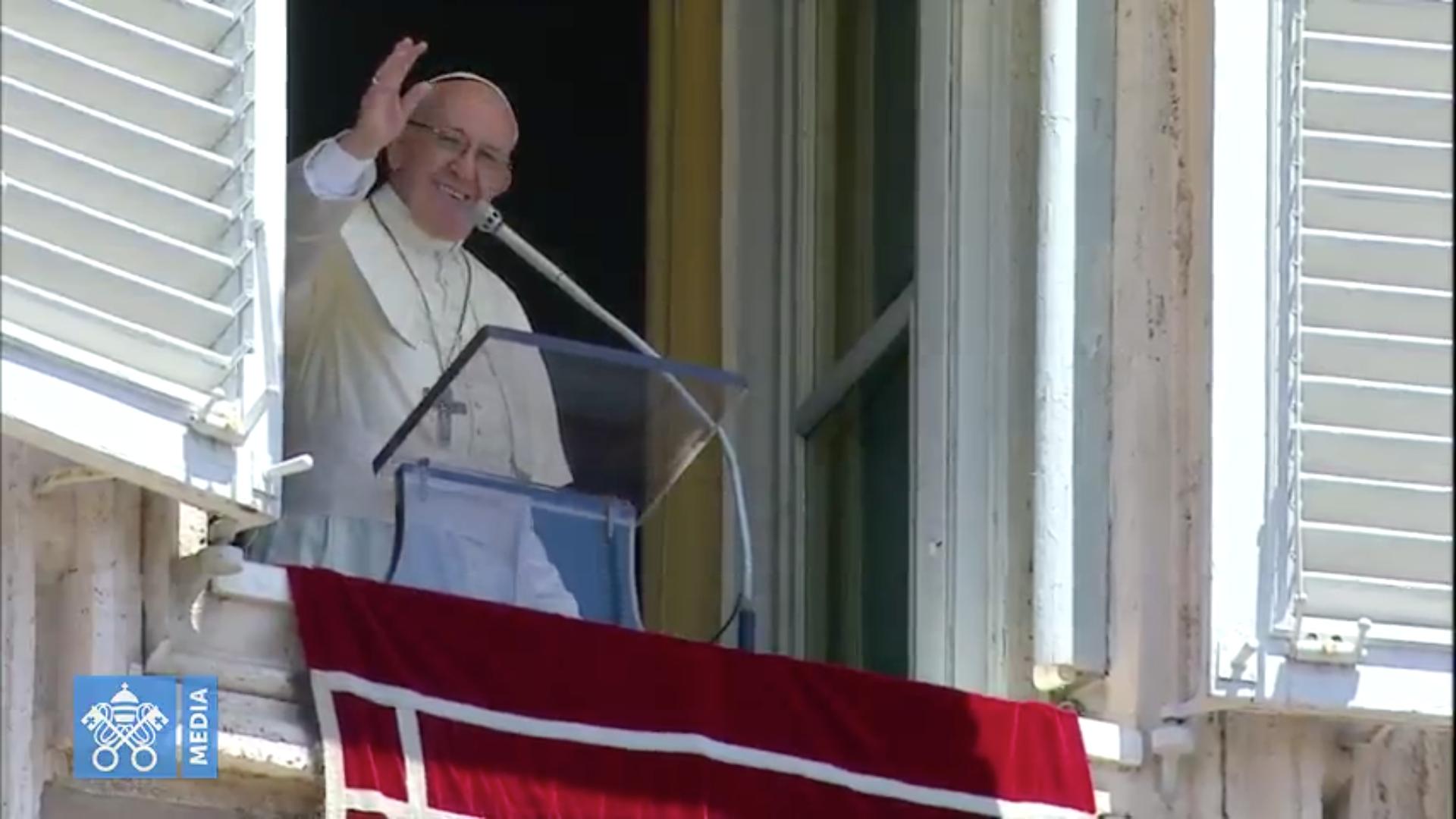 Angélus, capture @ Vatican Media