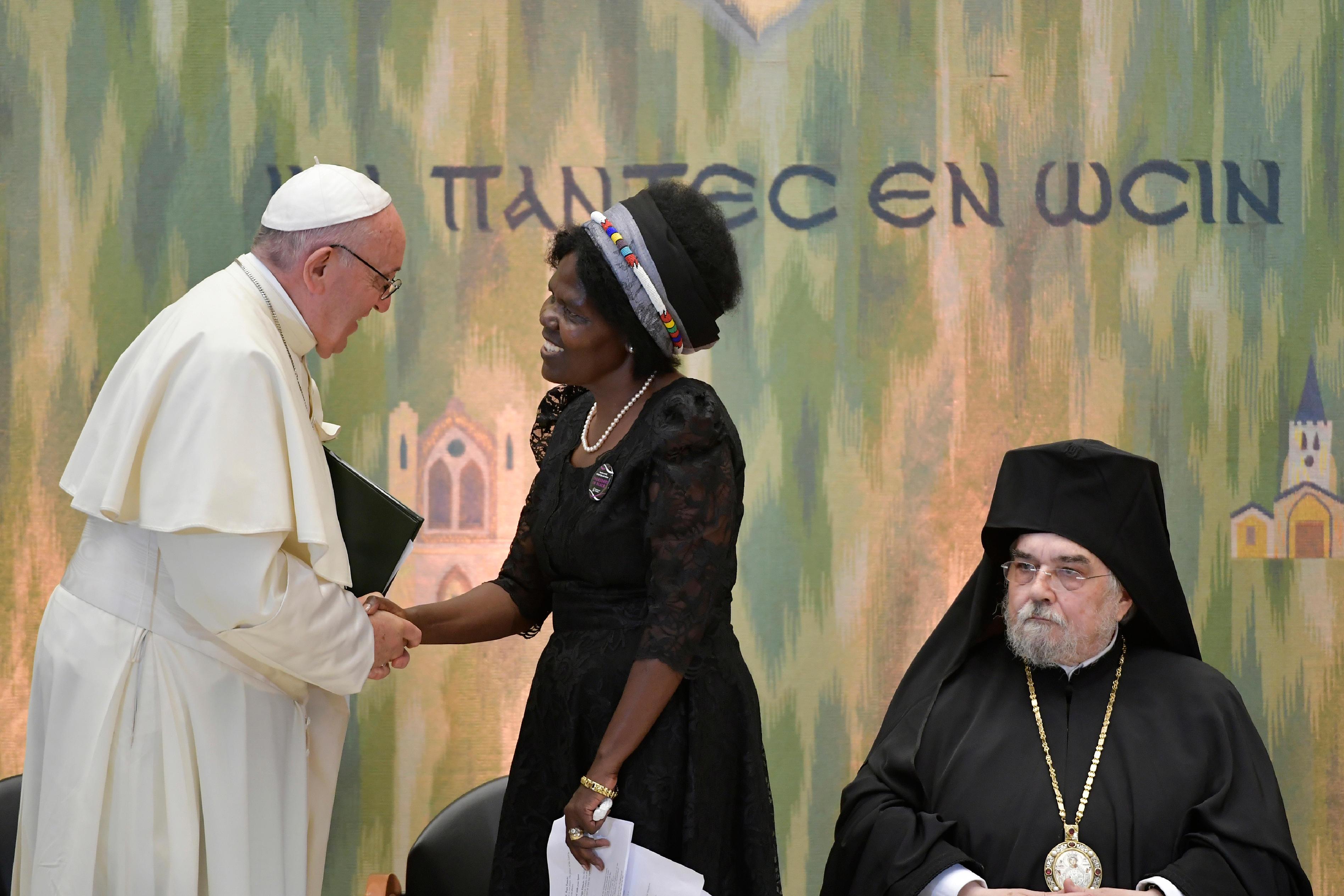Mme Agnes Abuom, Genève 21/6/2018 © Vatican Media