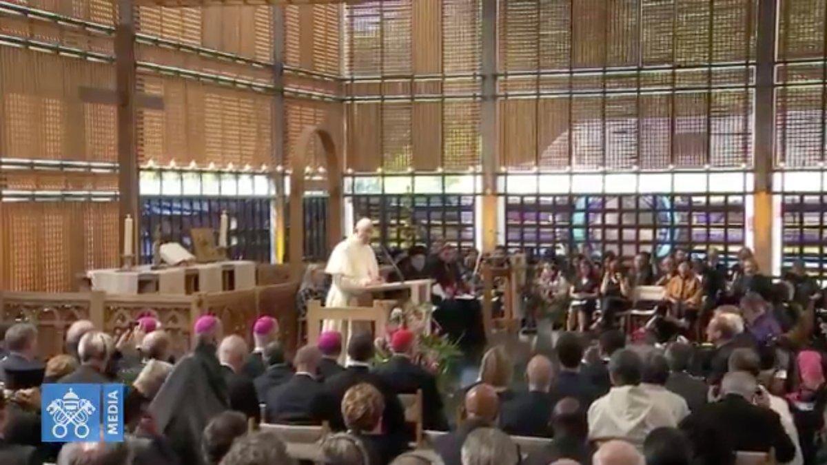 COE Homélie 21/62018 capture @ Vatican Media