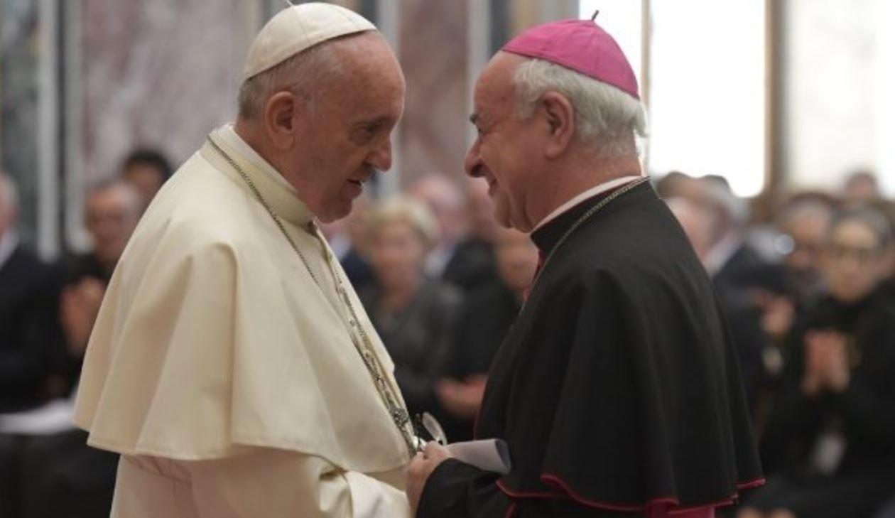 Mgr Paglia, Académie pour la vie © Vatican Media