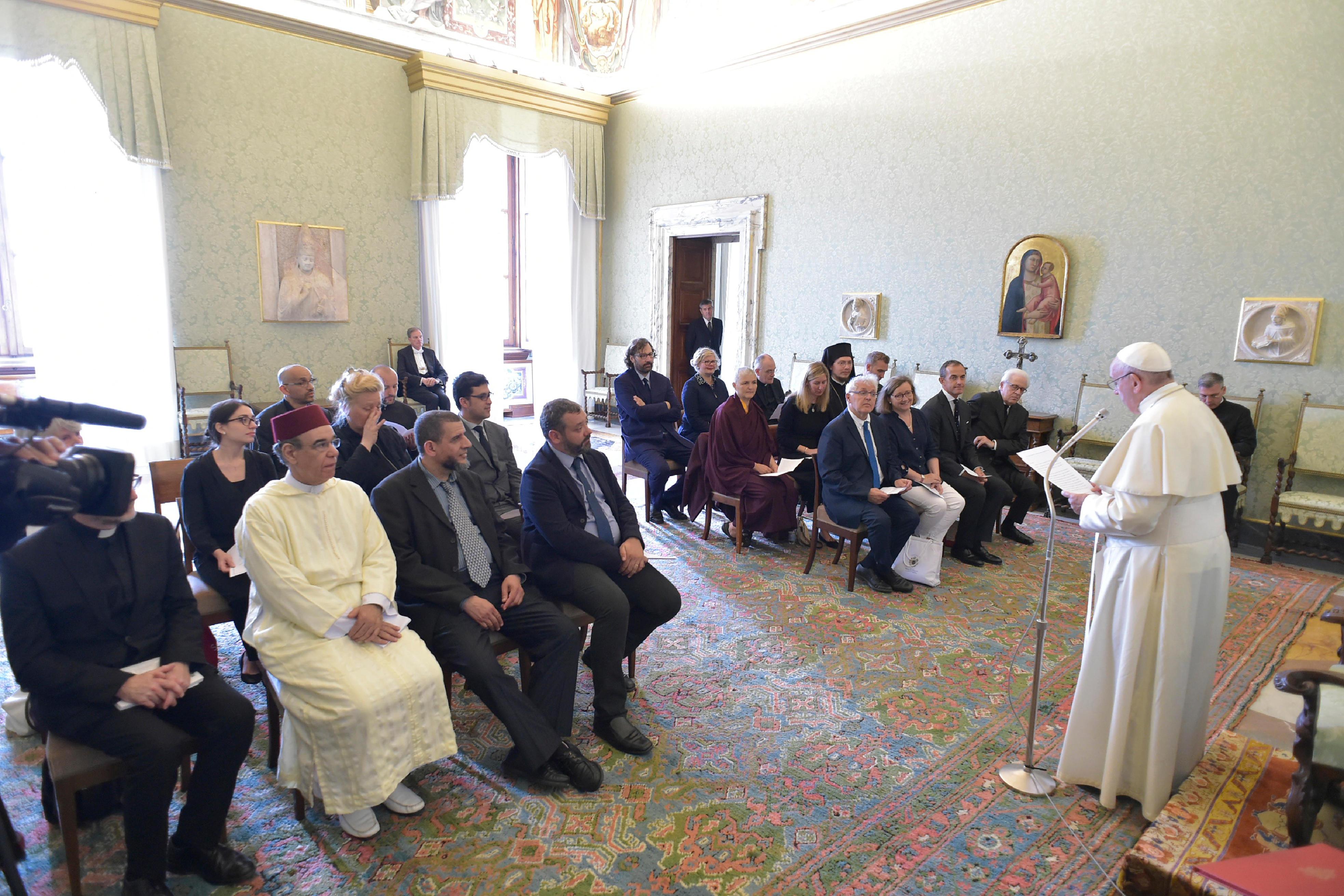 Emouna Fraternité Alumni 23/6/2018 © Vatican Media