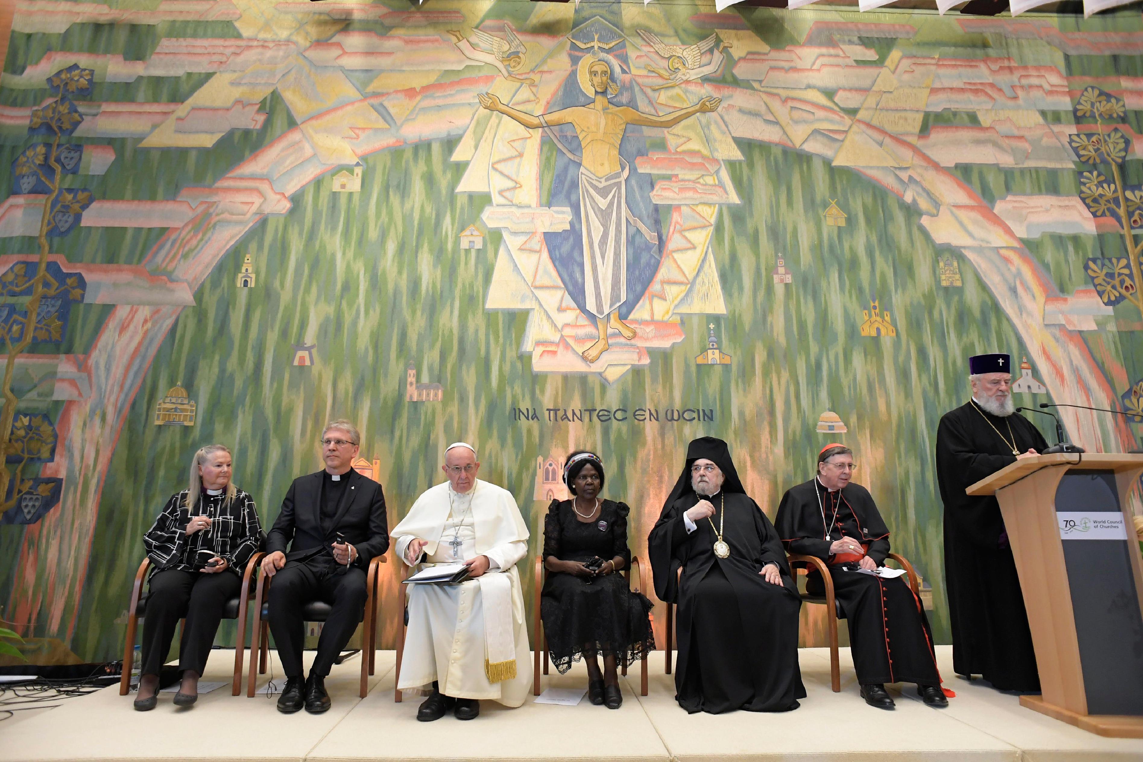 COE, Genève 21/6/2018 © Vatican Media