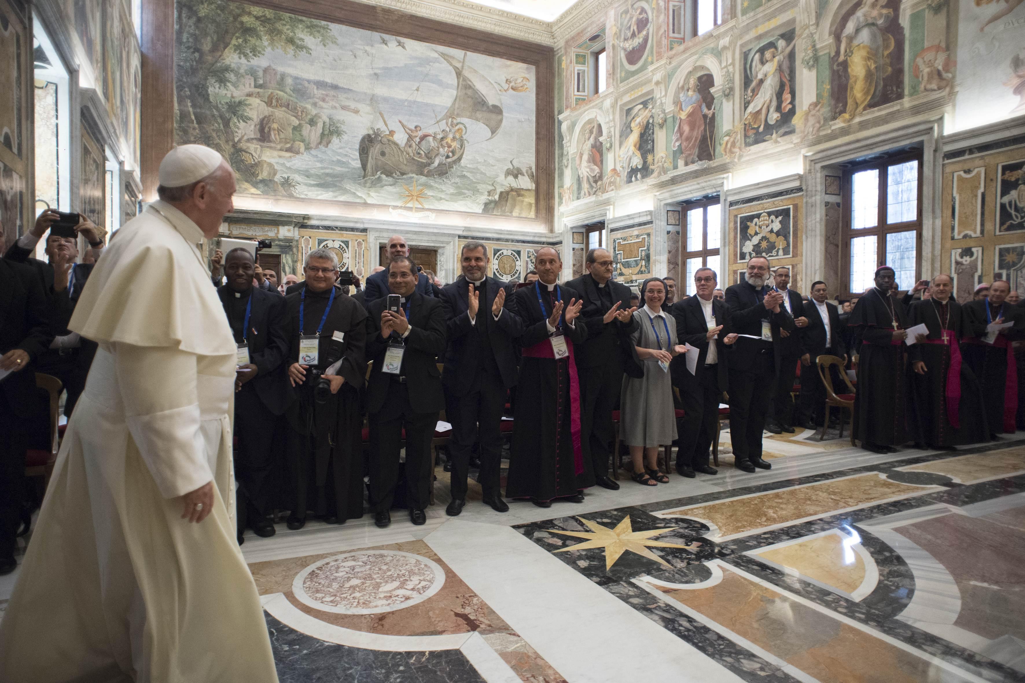 Directeurs nationaux des OPM © Vatican Media