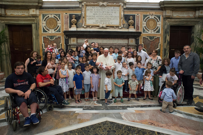 Forum des associations familiales © Vatican Media