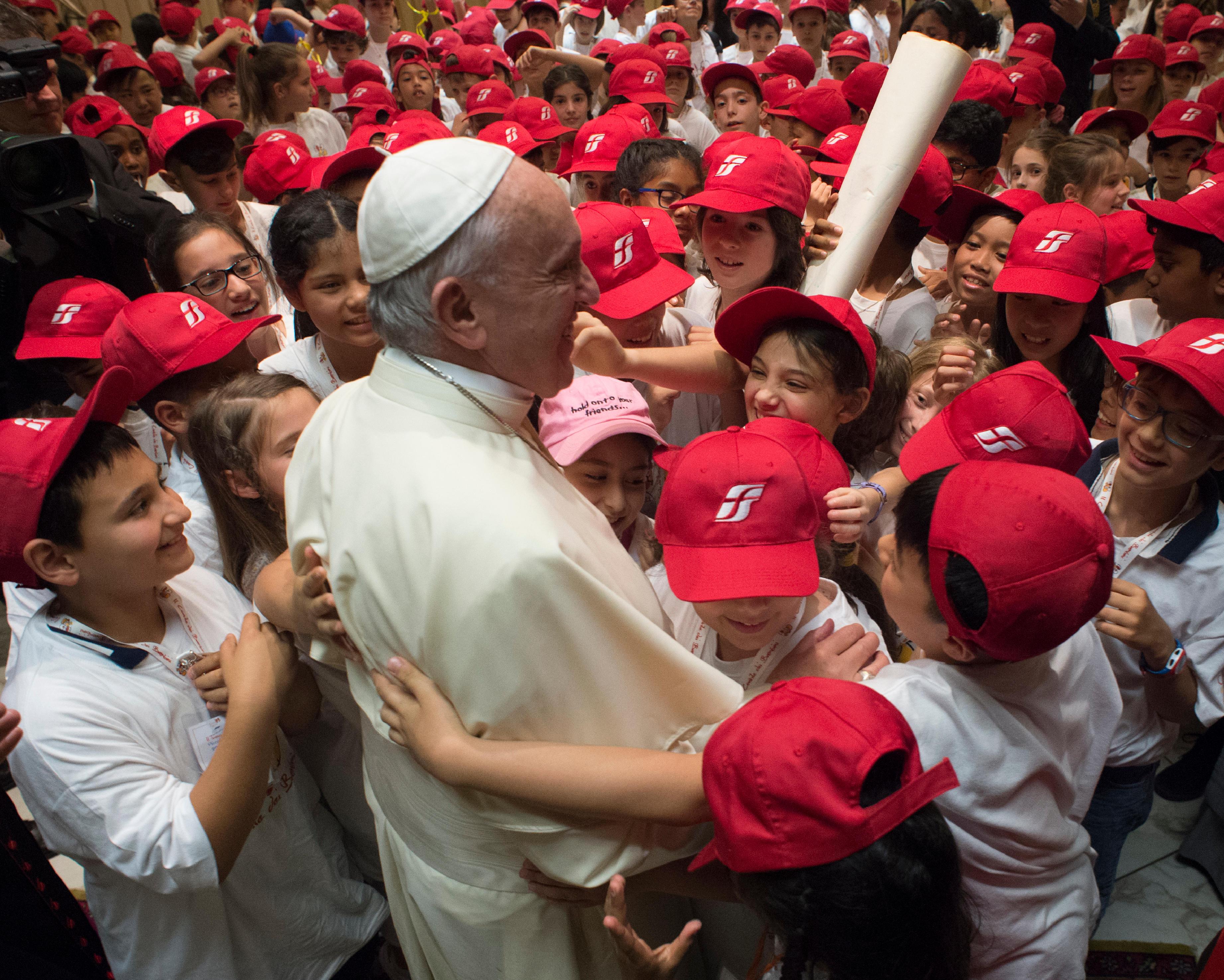 Le Train des enfants 9/6/2018 © Vatican Media