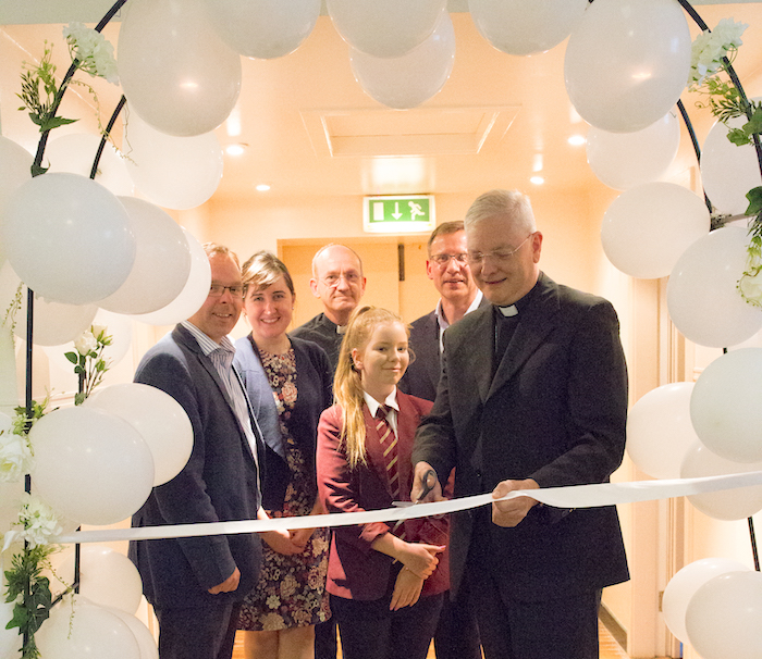 Inauguration du Centre pour la vie d'Edimbourg, capture @ archdiocese-edinburgh.com