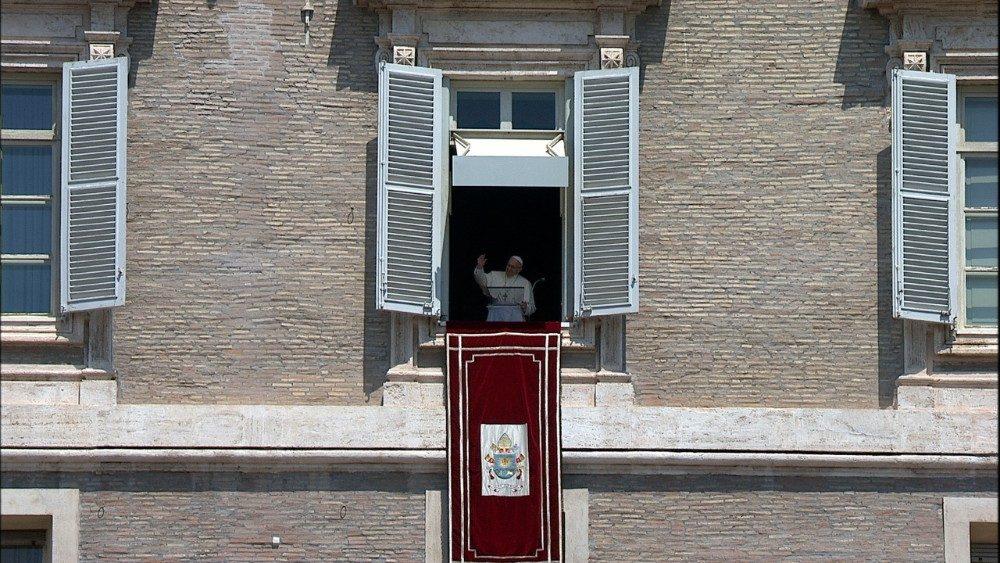 Angélus du 22 juillet 2018 © Vatican Media