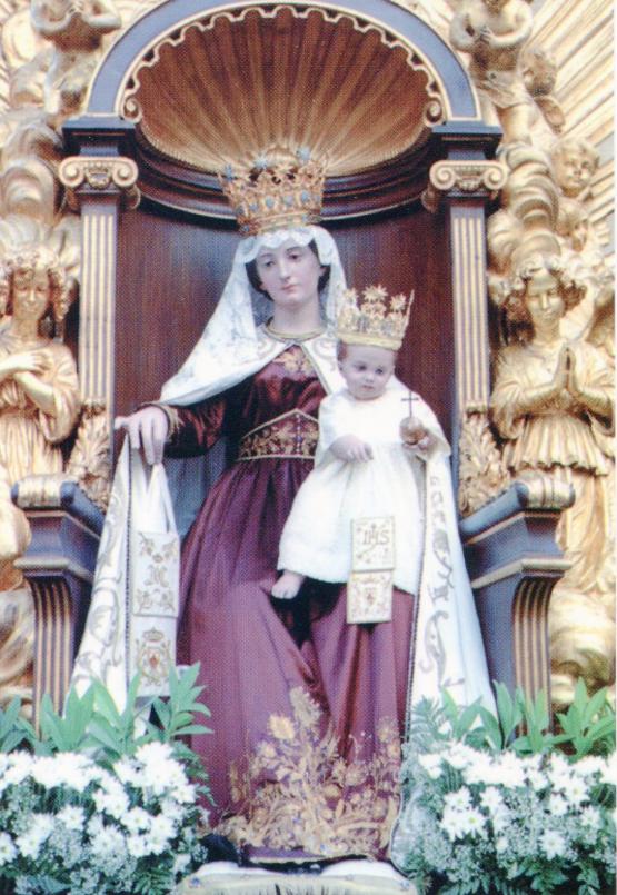 Vierge du Carmel, Santa Maria in Traspontina, Rome, capture