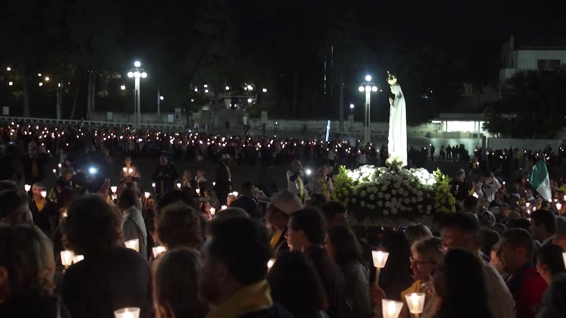 Equipes Notre-Dame, Fatima 2018, capture @YouTube