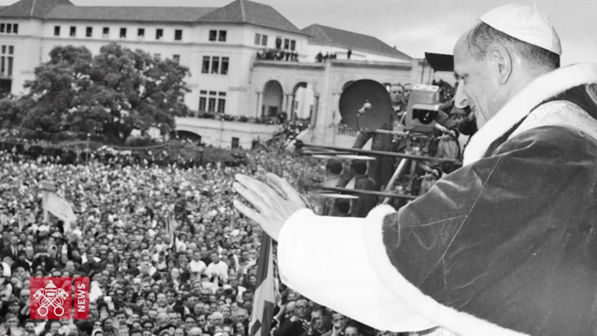 Paul VI, capture @ Vatican News