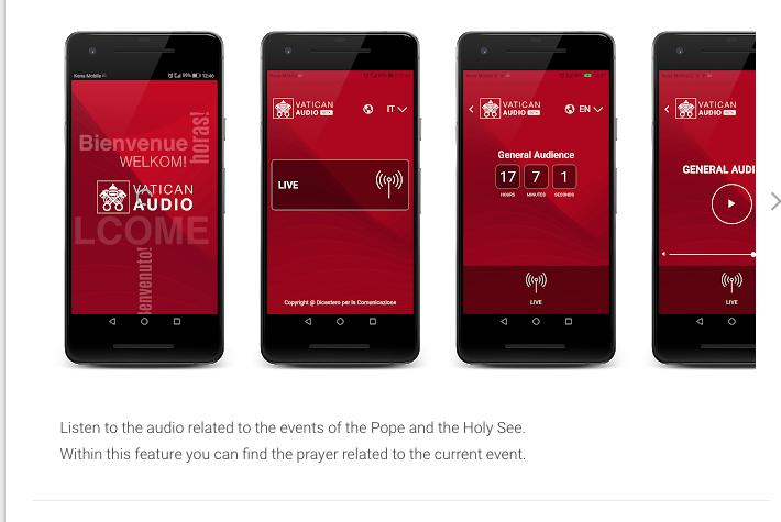 Vatican Audio App @ Vatican Media