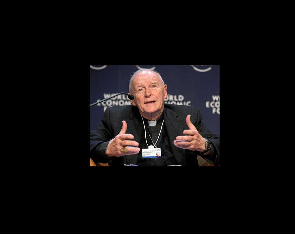 Mgr Theodore McCarrick @ wikimedia commons / weforum.org 2008