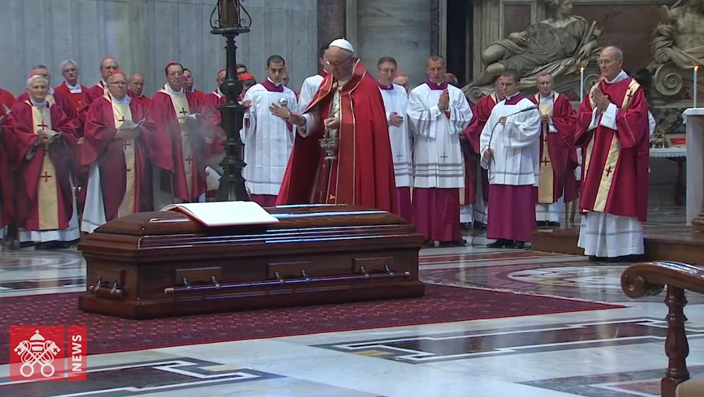 Funérailles du cardinal Tauran capture Vatican News