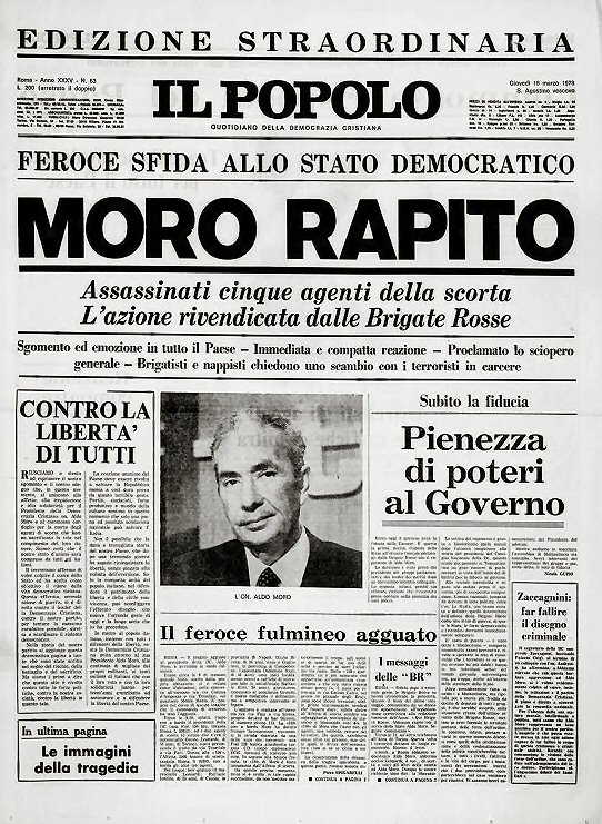 Il Popolo du 16 mars 1978 @ wikimedia commons
