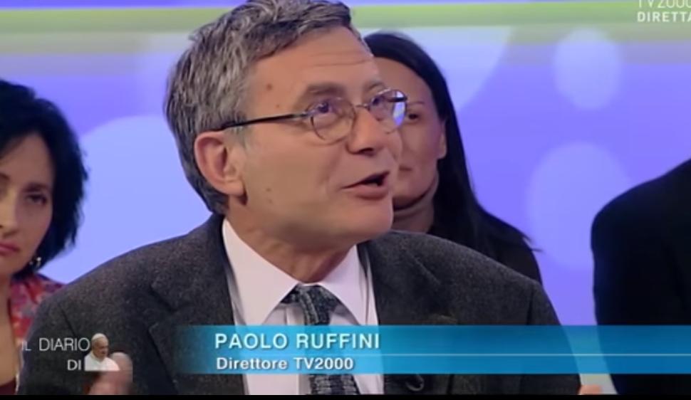 Paolo Ruffini, capture TV2000