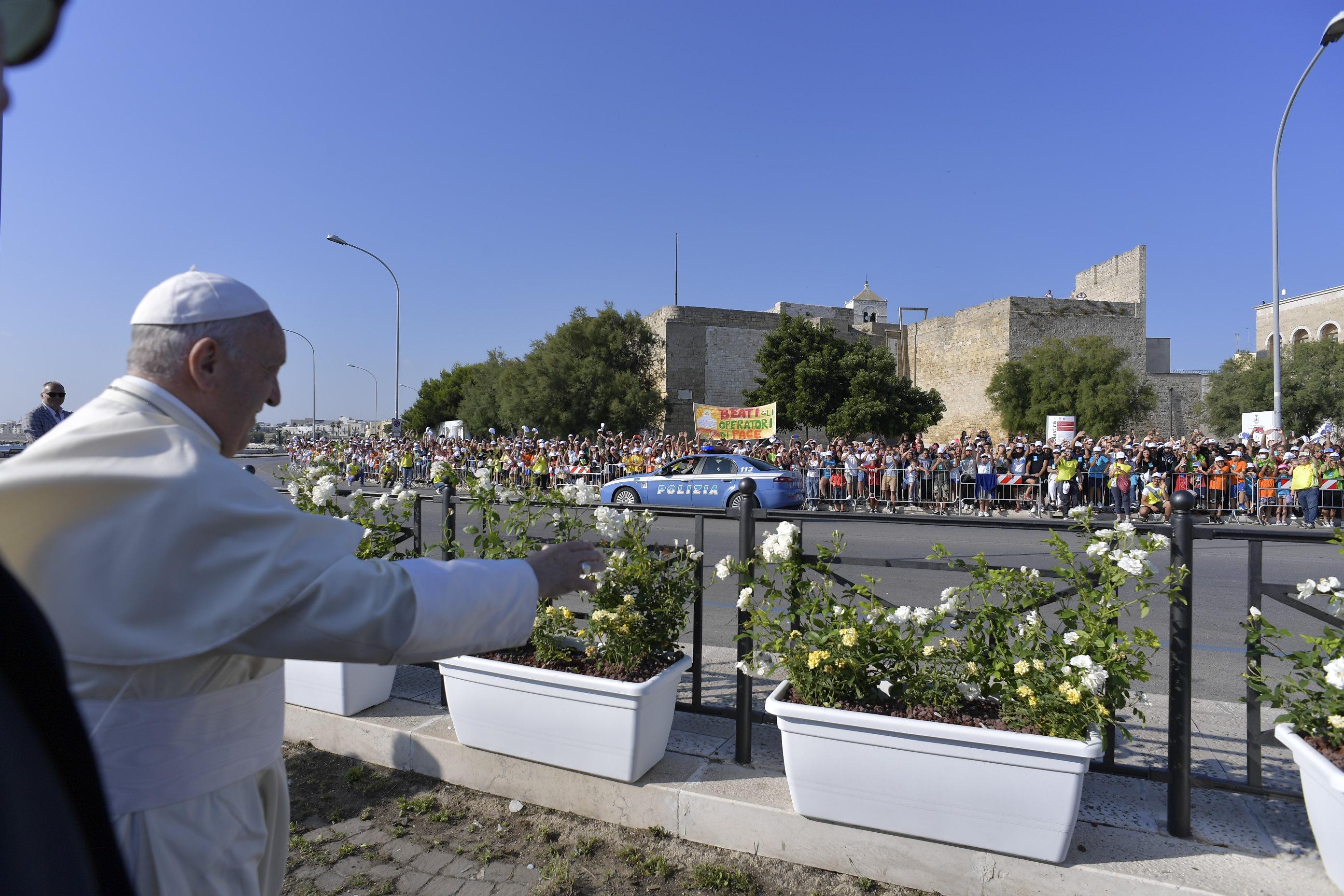 Prière pour la paix au Moyen-Orient Bari (Italie) 7/7/2018 © Vatican Media