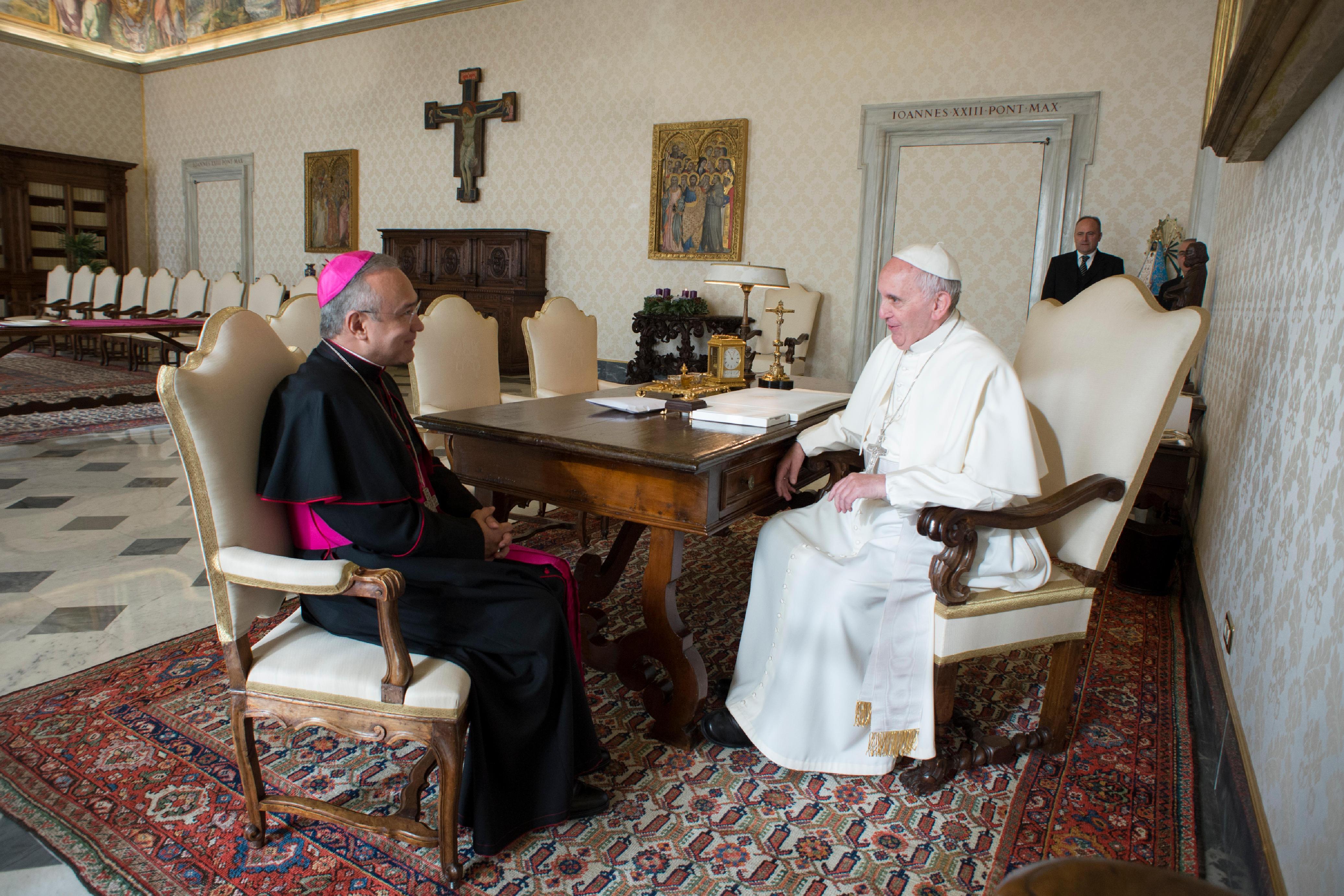 Mgr Edgar Peña Parra, substitut © Vatican Media